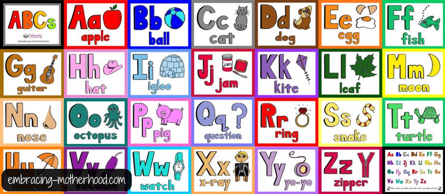 All ABC Flashcards