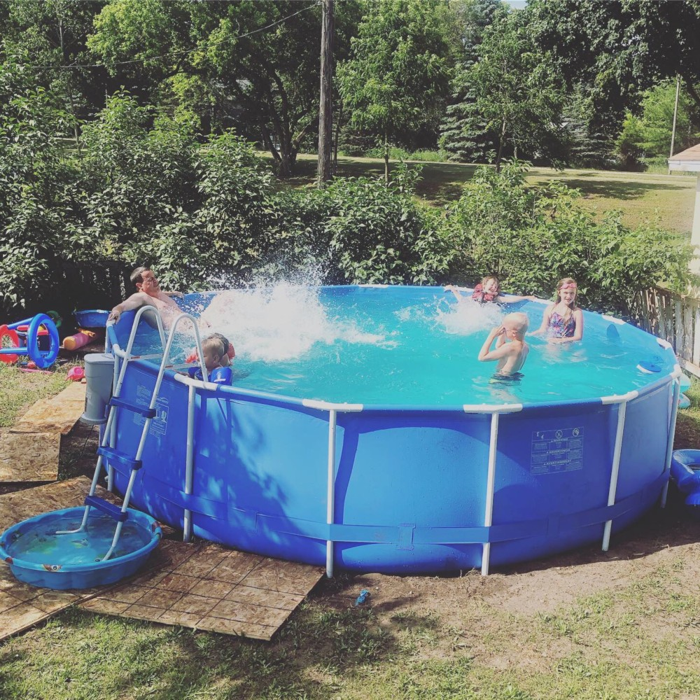 15 Foot Intex Pool Upgrade (2018)