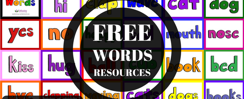Free Words Resources Plus Tips and Tricks for Use