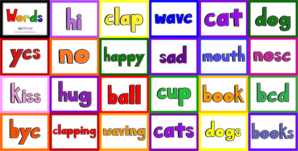 Words Flashcards