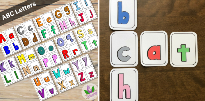 ABC Letters Flashcards