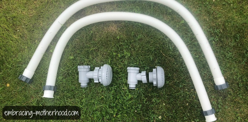 Hoses and Plunger Valves for Stock Tank Pool