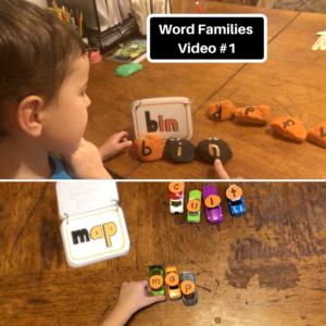 word families video #1 screen shots