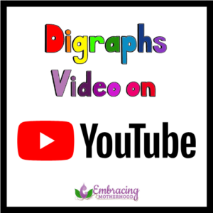 digraphs video on youtube