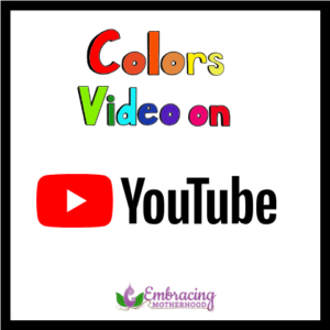 colors video on youtube