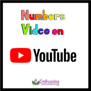 numbers video on youtube