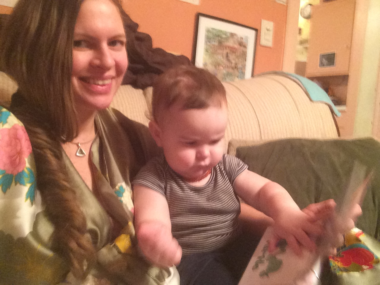 Using My ABC Resources with Baby Julian