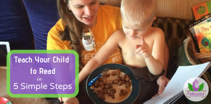 teach your child to read in 5 steps