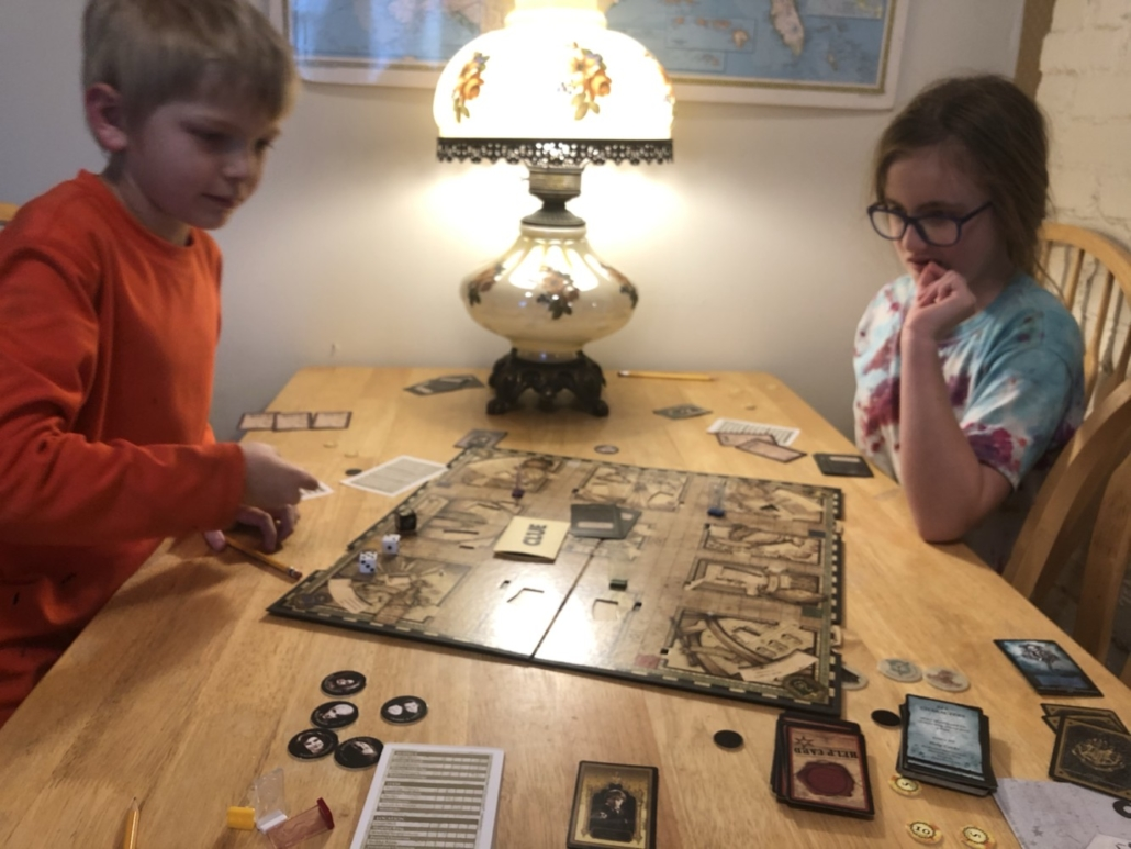 Playing Harry Potter Clue