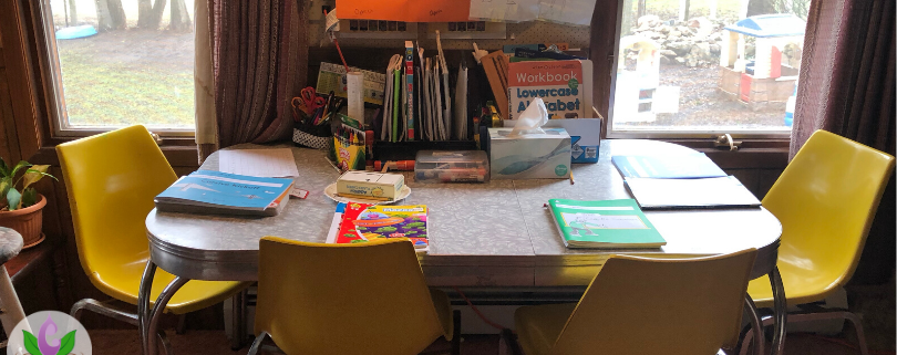 setting up a homeschool routine