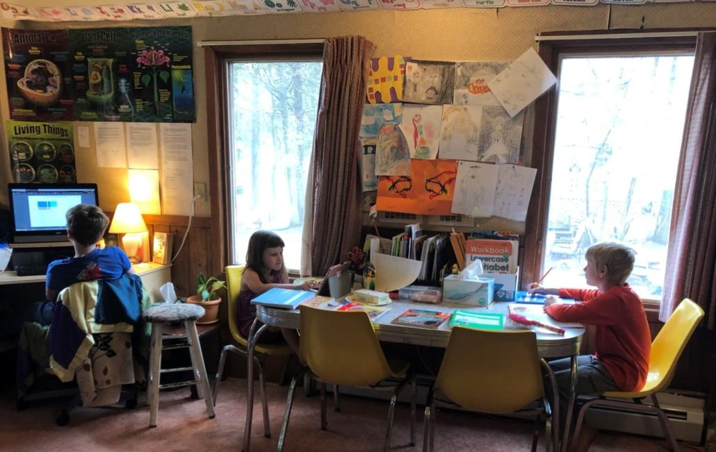 Homeschool Work Time
