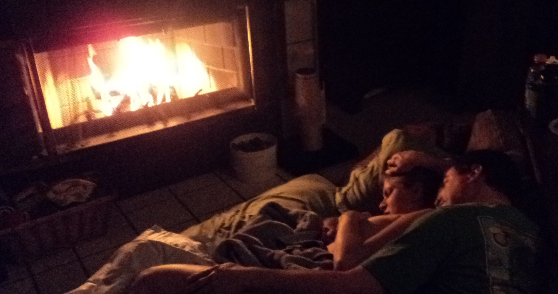 Nursing by the Fire