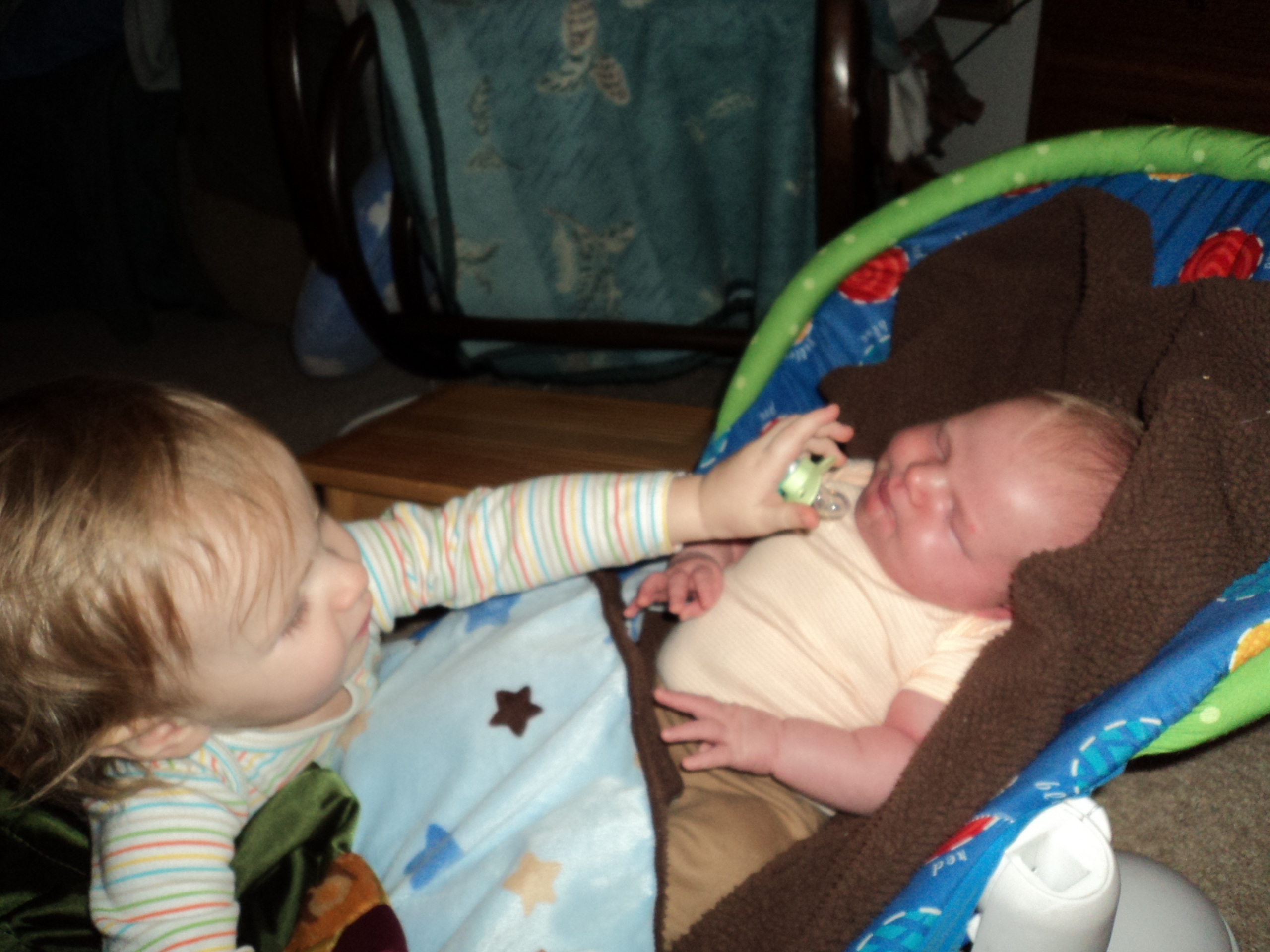 You can have my paci!