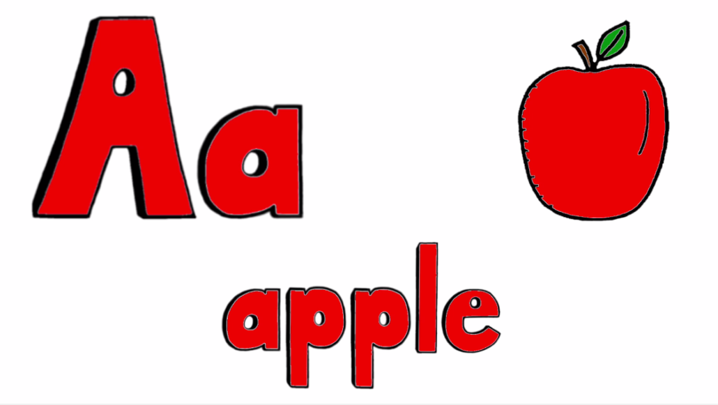 Letters, Word, and Image in the ABC Video